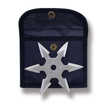 KD Elite Stainless Steel Six Point Throwing Star